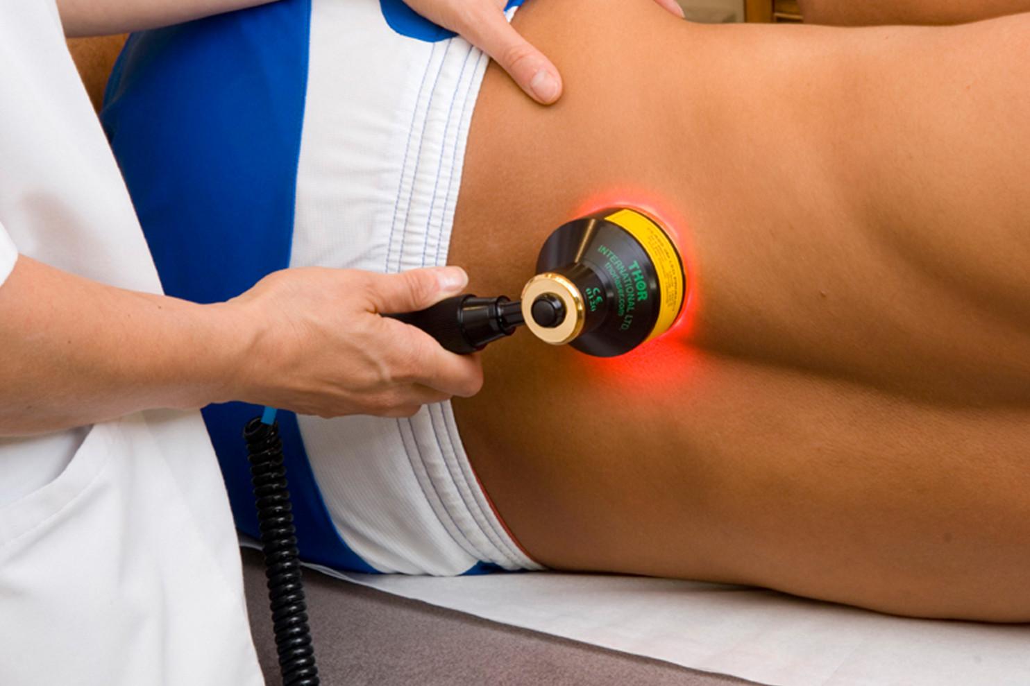 Лазер при лечении грыжи позвоночника